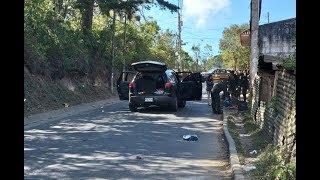 Banda criminal ''Los Tumbadores'' fue copada por la PNC