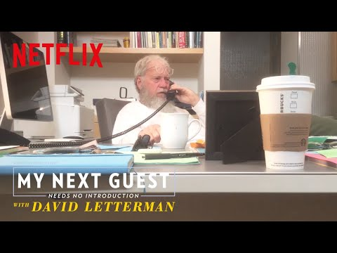 connectYoutube - Watch David Letterman Call President Obama | My Next Guest Needs No Introduction | Netflix