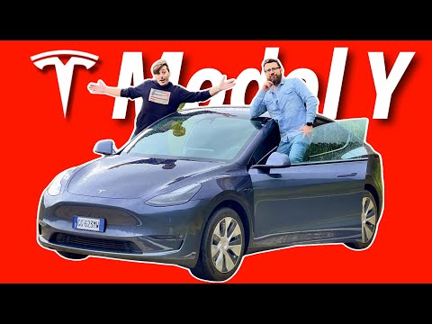 Ho provato la Tesla Model Y in Val Garde …