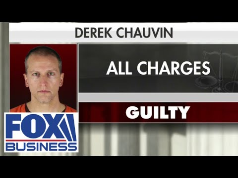 Derek Chauvin is found guilty on all counts