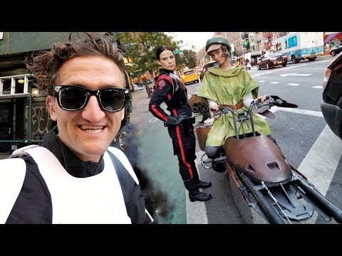 connectYoutube - STAR WARS SPEEDERS IN NYC making of!!