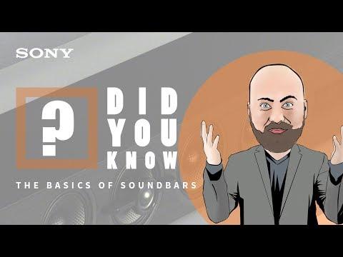 Learn the basics: soundbars