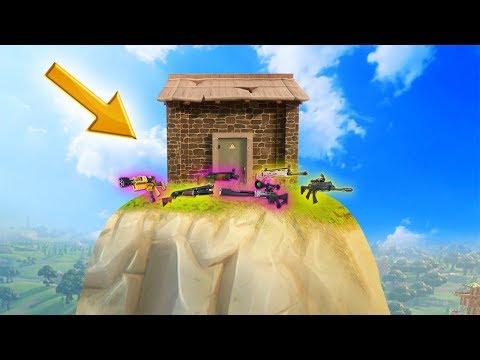 HIDDEN LEGENDARY LOOT HOUSE! (Fortnite: Battle Royale)