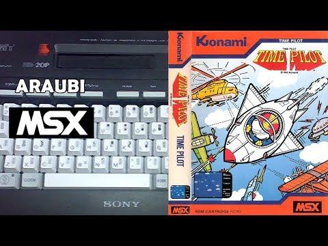 Time Pilot (Konami, 1983) MSX [110] El Kiosko