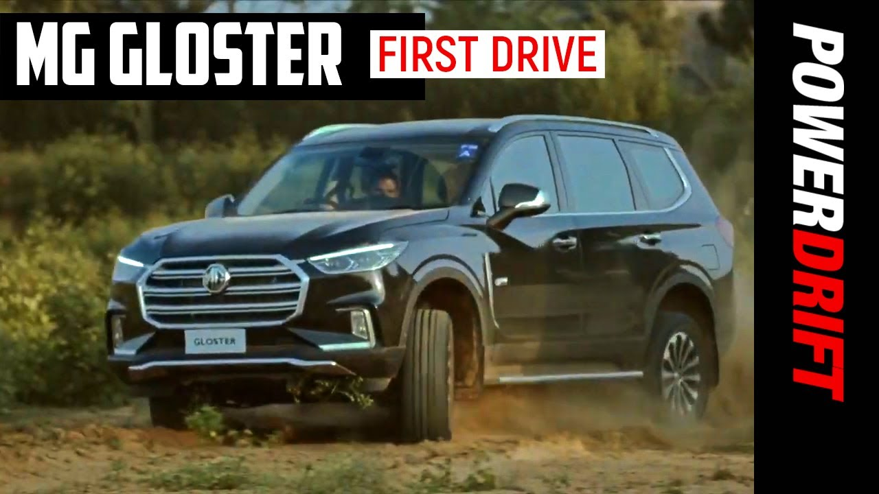 2020 MG Gloster | The Toyota Fortuner and Ford Endeavour have company! | PowerDrift