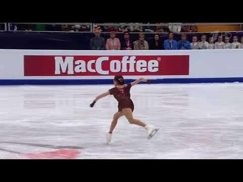 Evgenia Medvedeva 2018 FS European Championship TRIPLE TOE QUEEN