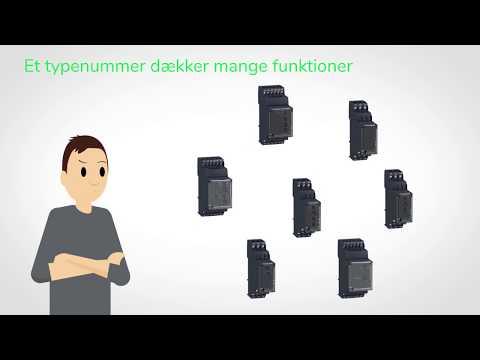Få fuld kontrol over dine 3 fasede applikationer med NFC kontrolrelæet | Schneider Electric