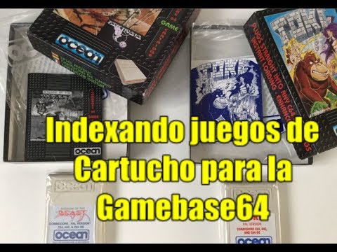 Commodore 64 Real 50Hz: Indexando Juegos en Cartucho para la Gamebase64 (VII) #Commodore manía videos