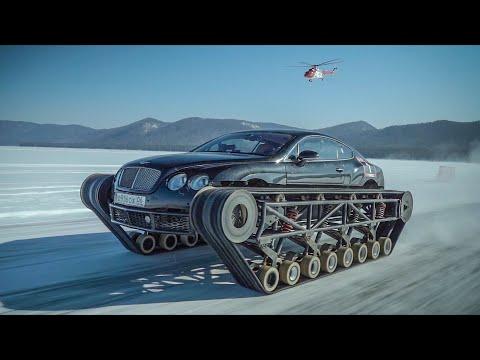 Bentley Ultratank ставит официальный рекорд России.