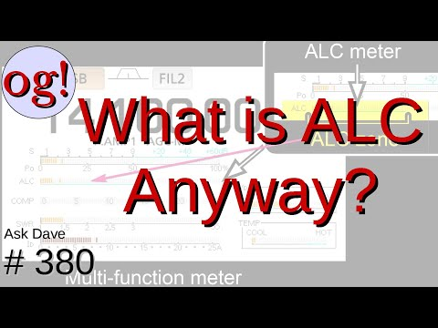 Automatic Level Control (ALC): Why? (#380)