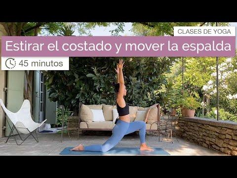 Hatha Yoga para estirar el costado y mover la espalda