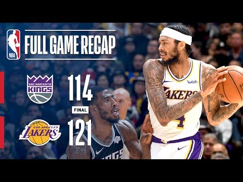 Full Game Recap: Kings vs Lakers | Strong 4th Seals Victory For Lakers
