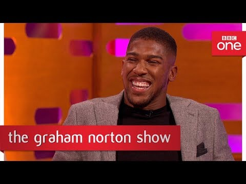 connectYoutube - Tom Hanks gives Anthony Joshua a boxing name - The Graham Norton Show - BBC One