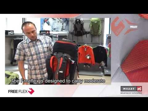 Freeflew mountaineering backpanel - Presentation video