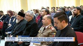Mitropolitul Ardealului, Doctor Honoris Causa al Academiei Fortelor Terestre
