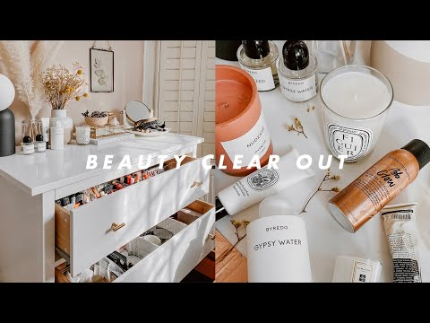 BEAUTY CLEAR OUT & DECLUTTER WITH ME | I Covet Thee