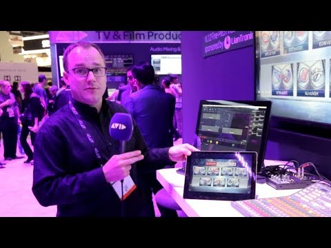 LIVE FROM #AVID AT #NABSHOW 2018   Avid Maestro   PowerWall