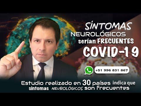 ESTUDIO REVELARÍA QUE LOS SÍNTOMAS NEUROLÓGICOS Y PSIQUIÁTRICOS SERÍAN FRECUENTES EN COVID-19