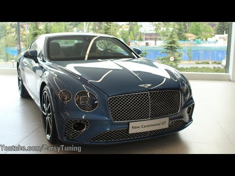 Bentley Santiago - New Continental GT Presentation