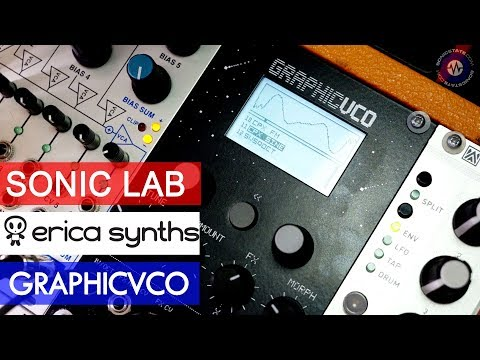 Sonic LAB: Erica Synths Graphic VCO