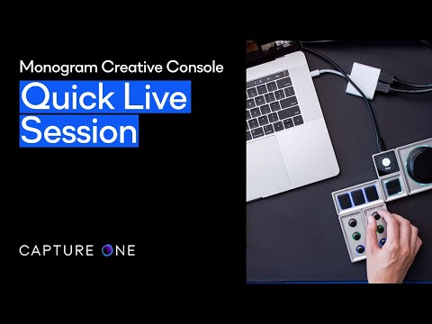 Capture One 21 | Quick Live - Monogram Creative Console