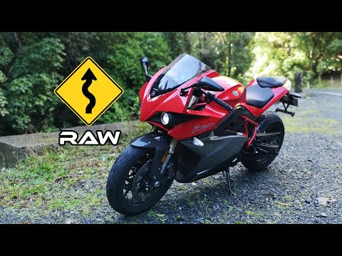 Energica Ego 🏍 Moonshine Hill Road ⛰ New Zealand 🎥 Raw