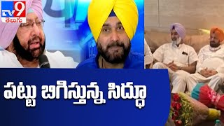 Navjot Sidhu holds show of support, takes MLAs to Golden Temple - TV9 - TV9