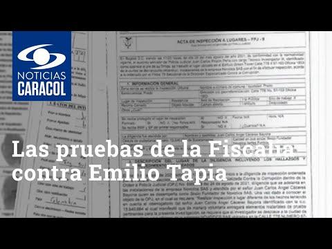 Las pruebas de la Fiscalía contra Emilio Tapia