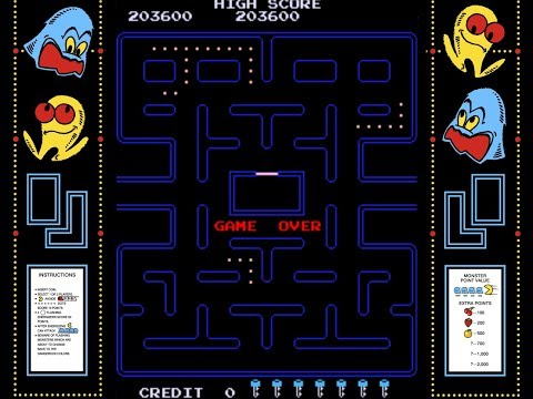 `Pac-Man 9th key pattern by Arcade Vintage