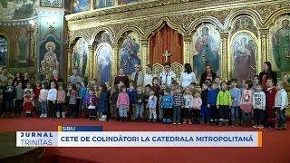 Cete de colindatori la Catedrala Mitropolitana din Sibiu