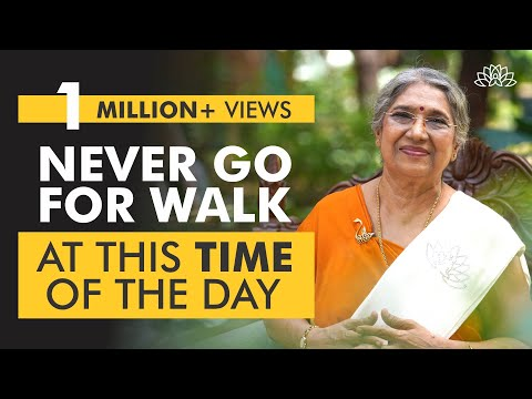 The Best Time to Go for a Walk | Dr. Hansaji Yogendra
