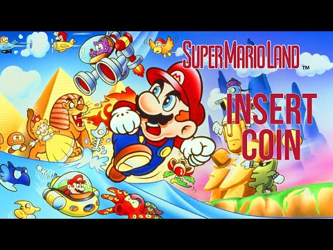 Super Mario Land (1989) - Game Boy - Partida Completa