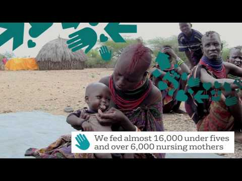 Feeding the hungry - Merlin's response in east Africa
