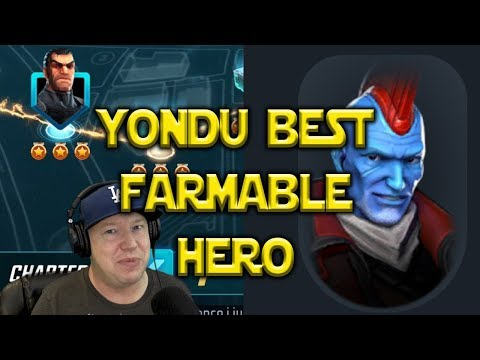 Best Farmable Character YONDU | Marvel Strike Force