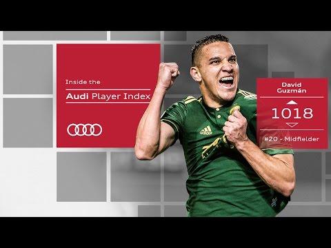 David Guzmán: Midfield Destroyer & Goal Creator   Audi Player Index