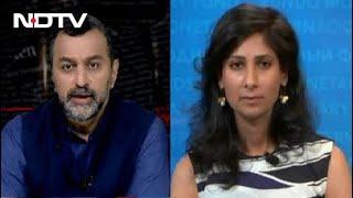 Gita Gopinath On India's Economic Divide   Reality Check - NDTV