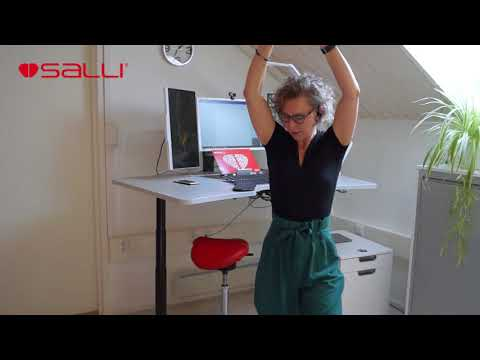 Ergonomic Salli Workstation - use the table more efficiently and exercise