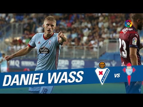 Golazo de Wass (0-4) SD Eibar vs RC Celta