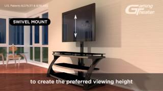 3 In 1 Tv Console Solution Whalen Furniture Youtube