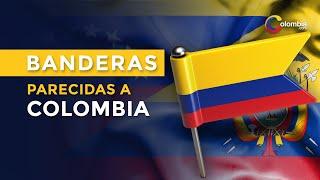 ¿Por qué las banderas de Colombia, Venezuela y Ecuador son tan parecidas