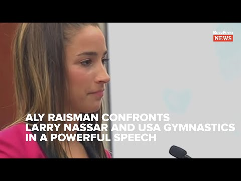 Aly Raisman Calls Out Larry Nassar And USA Gymnastics. Here's Every Word Of Her Speech.