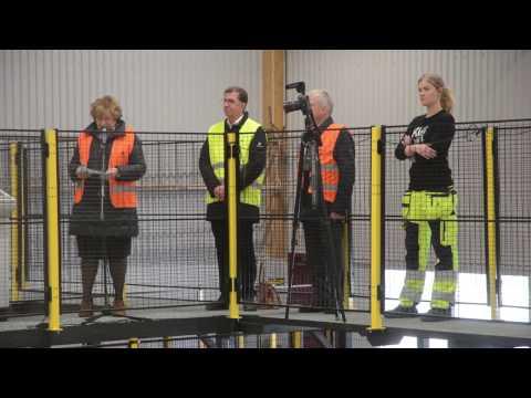 Invigning Martinsons KL-träfabrik