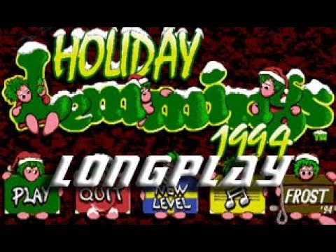 Holigay Lemmings 1994 (Commodore Amiga) Longplay