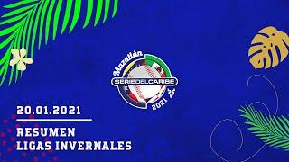 CAMINO A MAZATLÁN 2021 | ÁGUILAS CIBAEÑAS CORANA NO.22 | RESUMEN LIGAS INVERNALES - 20/01/2021