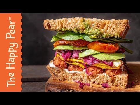 ULTIMATE VEGAN SANDWICH | THE HAPPY PEAR