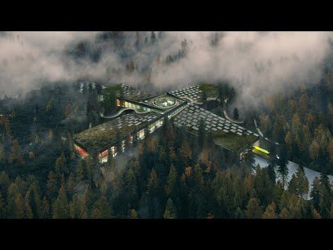 BIG designs furniture factory for Vestre in Norwegian forest