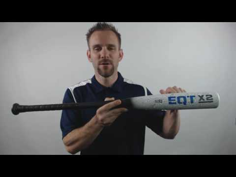 2016 Adidas EQT X2 BBCOR Baseball Bat: X2