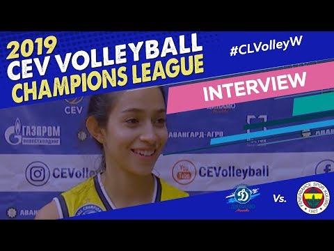 Samantha Bricio Speaks about the first win for Fenerbahce this #CLVolleyW season!