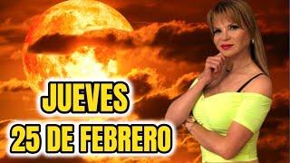 ALERTA TODOS ?Horóscopo Jueves 25 De Febrero   MHONI VIDENTE PREDICCION Para Los Signos Del Zodiaco