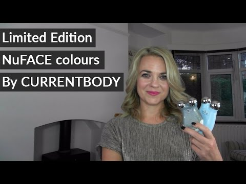 Limited edition NuFACE colours by CURRENTBODY